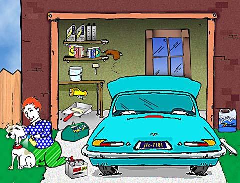 Garage Safety Tips