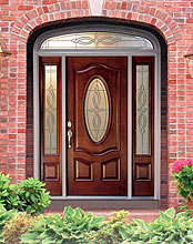 New Front Door Adds Value to a Home