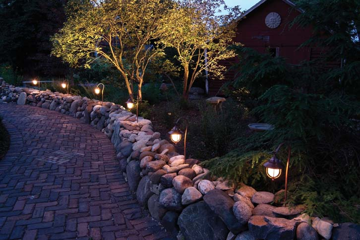 Light Up Summer Nights with Low-Voltage Lighting