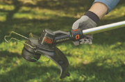 Black and Decker Cordless Trimmer & Edger Eliminates the Hassles of Gas