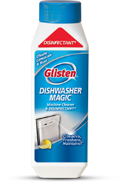 Get a Clean Machine – and Dishes – with Glisten Dishwasher Magic
