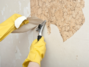 Remove or Disguise Ugly Wall Treatments