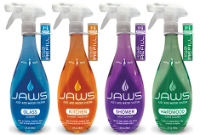JAWS Cleaning Products are Tough, Non-toxic and Reusable