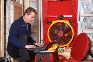 Locate Home Energy Leaks with a Blower Door Test