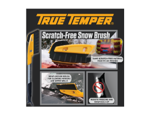 Protect Your Car's Finish with the AMES Scratch-Free Snow Brush