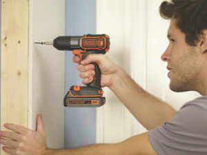 New 20V MAX Lithium Cordless Drill From Black & Decker Has AutoSense Technology