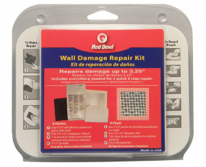 Red Devil's Wall Damage Repair Kit is a One-Stop Solution