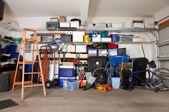 Fall Garage Storage and Organization