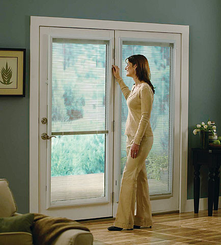 Enclosed Door Blinds Improve Air Quality and Energy Efficiency