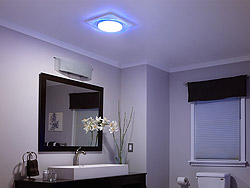 NuTone LunAura Exhaust Fans Provide Quiet Ventilation with Convenient Lighting