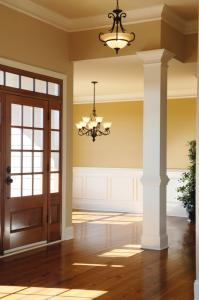 Molding and Wainscoting Add Interest to a Room