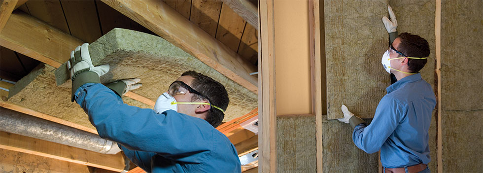 Roxul is a fire-resistant, sound-resistant and moisture-resistant insulation that's made from stone