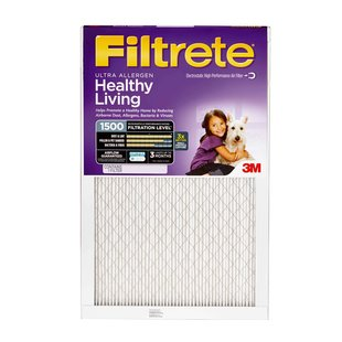 Filtrete Healthy Living Ultra Allergen Filter MPR 1500