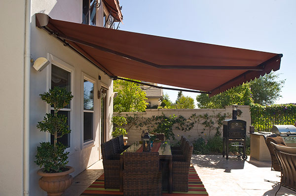 Solair Retractable Awnings increase usability of patio and deck spaces