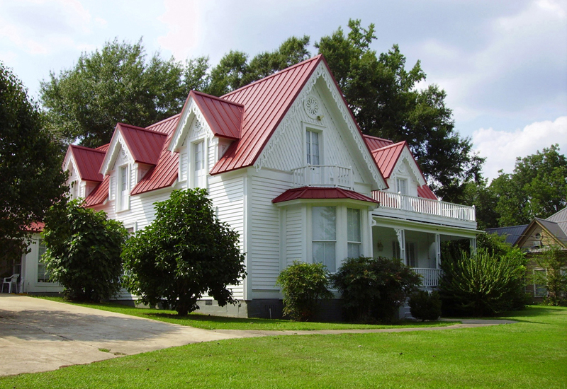 Cool Metal Roofing: A Hot Idea. Photo credit: MRA, www.metalroofing.com