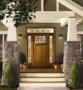Therma-Tru fiberglass doors are a durable choice for entry doors.