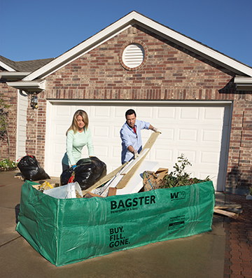 Bagster Dumpster in a Bag