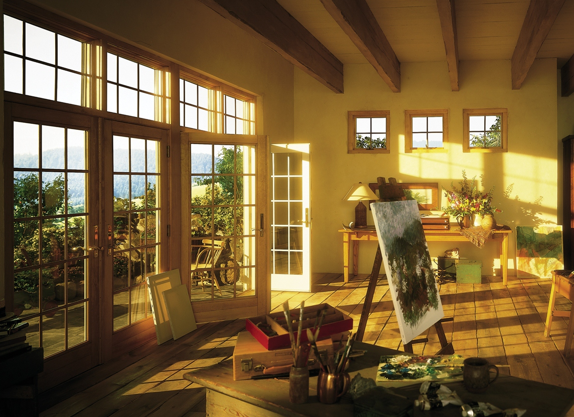 Andersen Frenchwood Hinged Patio Doors