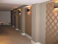 Upolstered wall panels