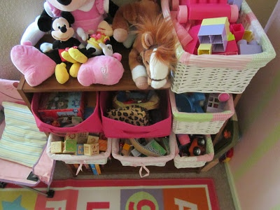 Storage and organization for children's rooms