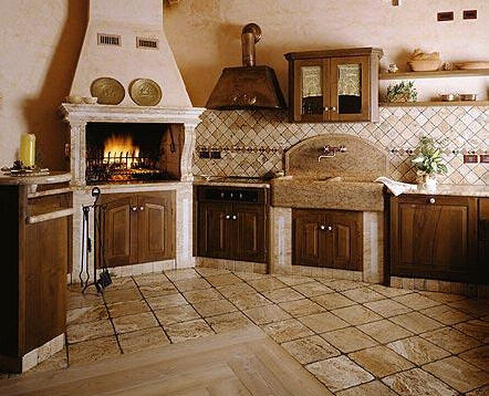 designing your own country kitchen