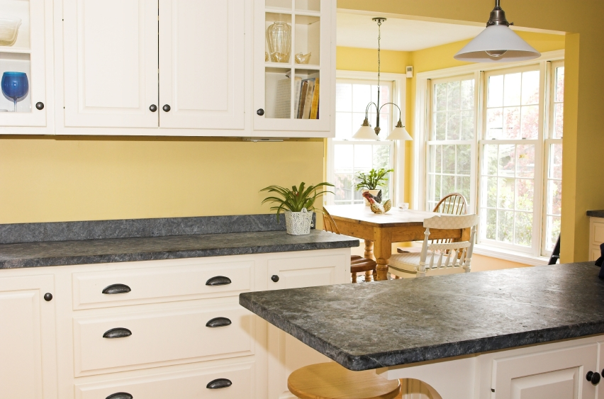 Decorating Yellow Kitchen White Cabinets Part 29