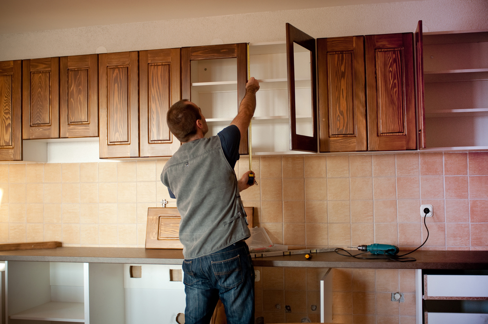 Installing a new kitchen