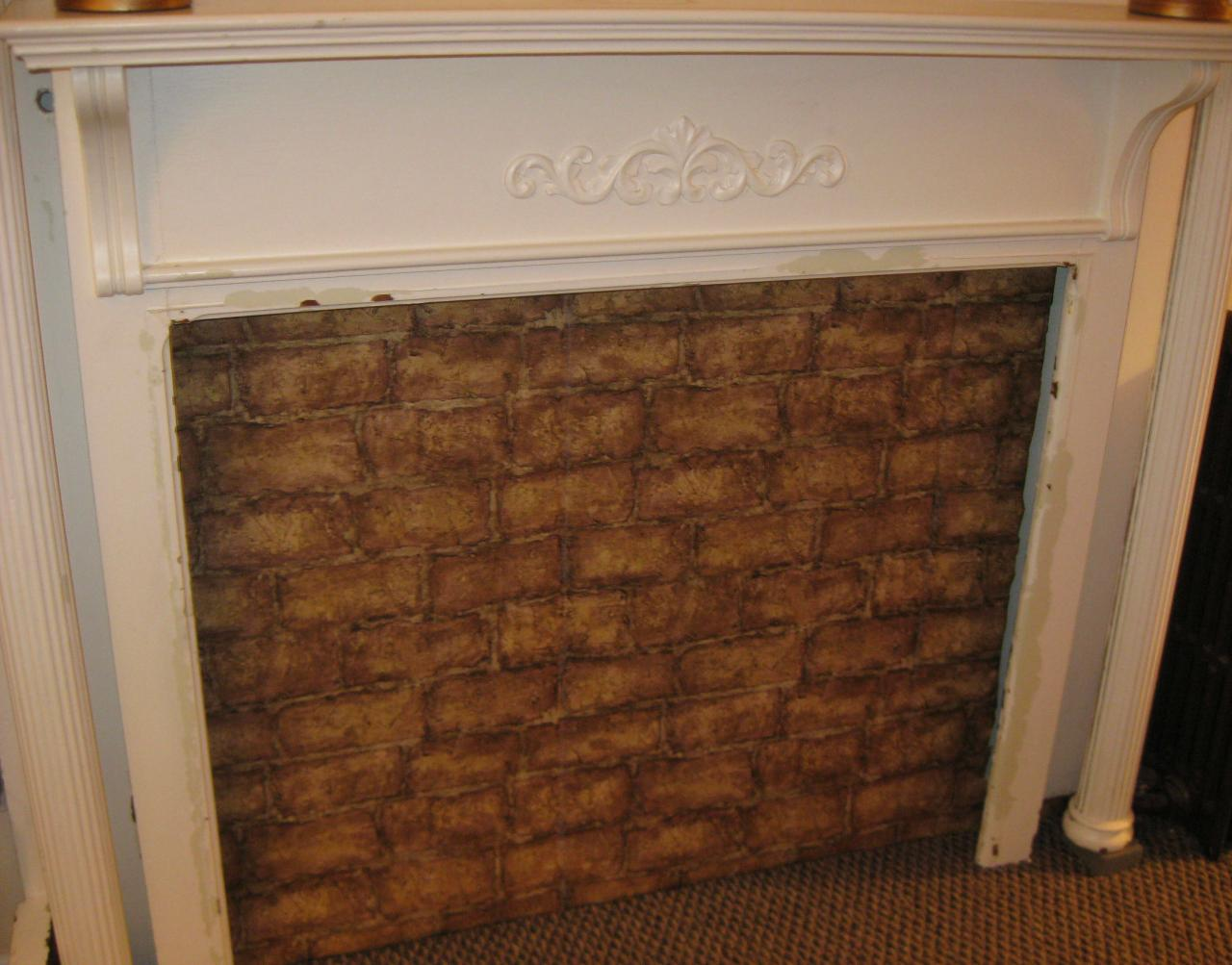 Find out how to add vintage charm to a home with a fireplace mantel for those who rent a house or apartment and don