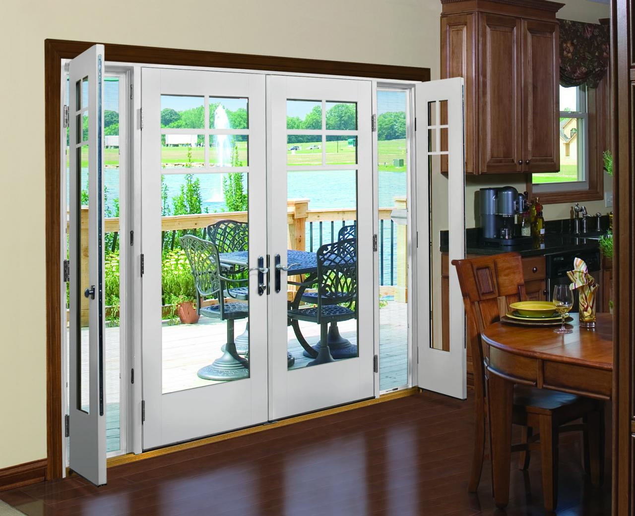 Therma-Tru Vented Sidelites Let in Fresh Air with Style