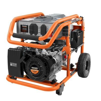 This 7,500-watt generator produces enough power to supply a 10-circuit transfer switch.