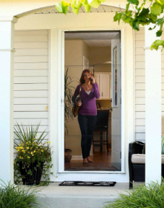 ODL Retractable Screen Doors Provide Fresh Air, Hassle-Free