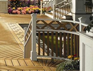 wood deck construction vs brick patio paving tips