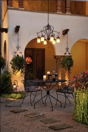Outdoor Lighting Image Courtesy of Kirchler Lighting