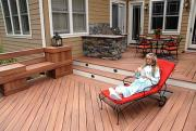 Easy care vacation homes.  Photo: Fiberon Decking