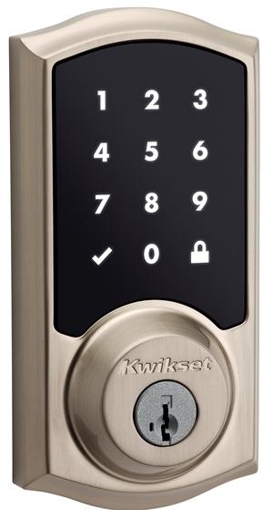 Kwikset® Premis Apple HomeKit™-compatible smart door lock