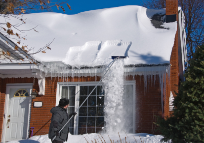 Staying on Top of Roof Snow Removal