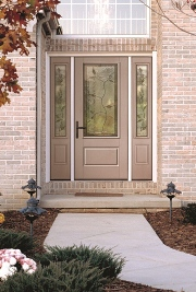 Therma tru classic craft fiberglass entry doors are for Therma tru fiberglass entry doors prices