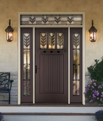 Therma Tru Decorative Glass Options Add Style To Doors And