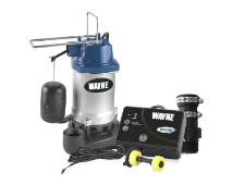 Wayne AdvanTEXT Sump Pump Alert System Lets You Take Action Before Your Basement Floods