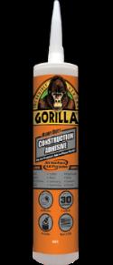 Gorilla Heavy Duty Construction Adhesive Provides a Long-Lasting Bond