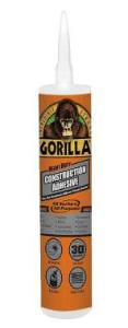 Gorilla Debuts Heavy Duty Construction Adhesive