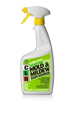 CLR Mold & Mildew Stain Remover Cuts Through Stubborn, Caked-On Stains