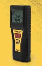 Stanley TLM65 Laser Distance Measurer Easy to Use and Accurate