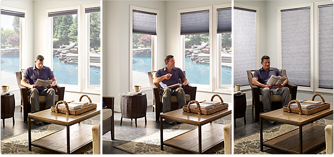 Lutron Serena Remote Controlled Cellular Shades