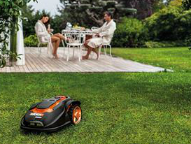 WORX's Landroid Unmanned Mowing Vehicle Cuts Grass Without Supervision