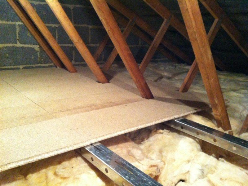 What S The Best Way To Add Attic Insulation A Floored