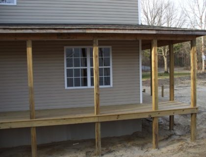porch framing