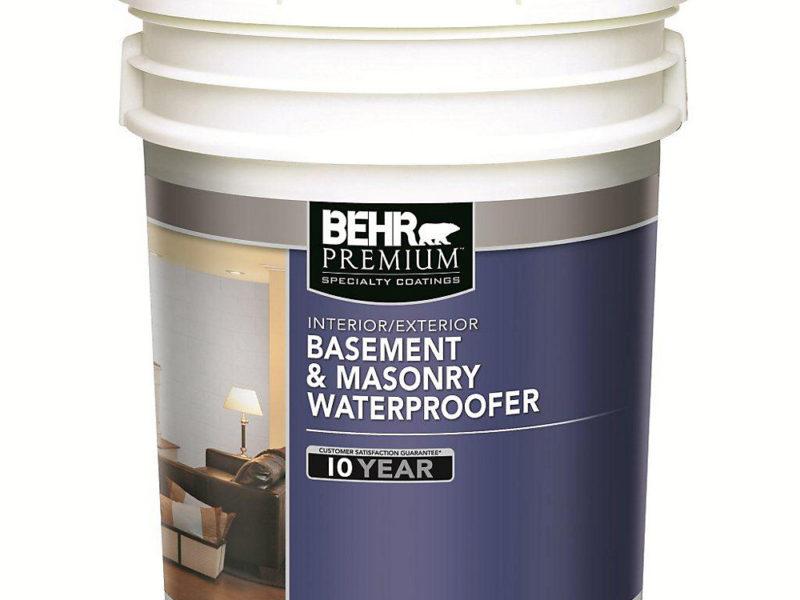 Behr Bat Masonry Waterproofing