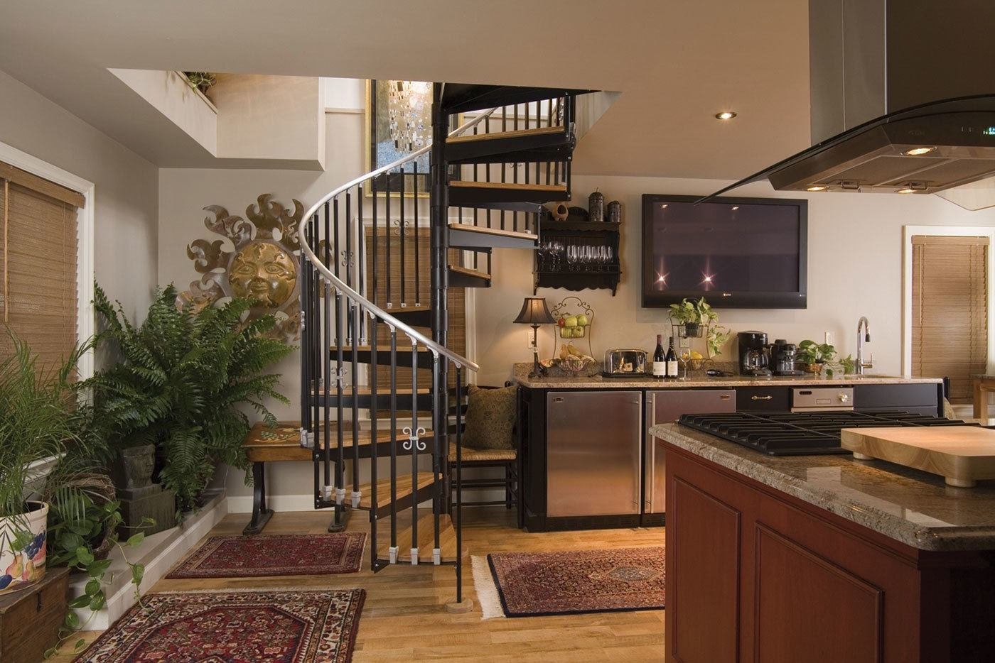 Spiral Staircase Kits For Your Home The Money Pit