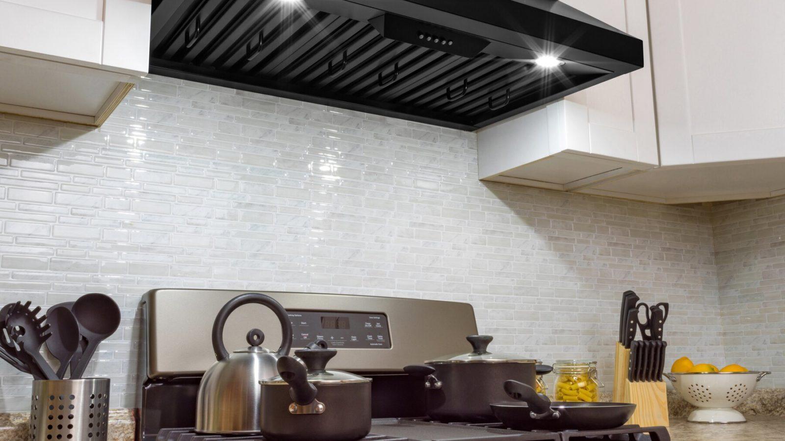Range Hood in kitchen